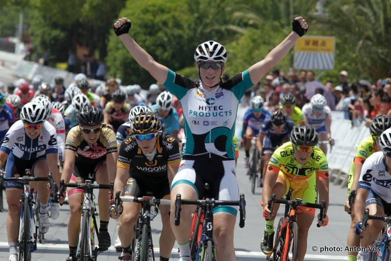 Kirsten Wild wins Stage 1