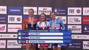 Kirsten Wild - Silver medal