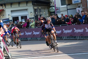 Kirsten sprints to second victory of the week Photo: Sportfoto.nl/SF Road 2015