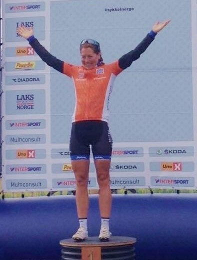 Ingrid with overall victory in the Norwegian cup