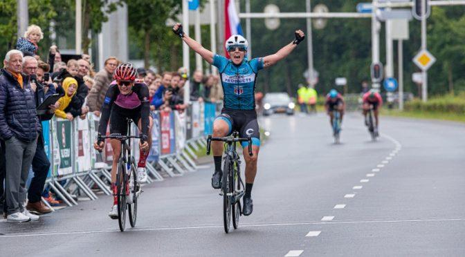 Marta Tagliaferro wins Omloop van de IJsseldelta