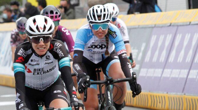 Amalie Lutro also in front in Brabantse Pijl
