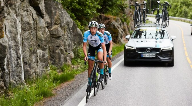 Strong racing in Tour de Feminin