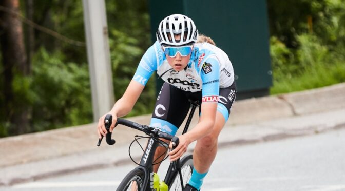 Racing at home in Ladies Tour of Norway