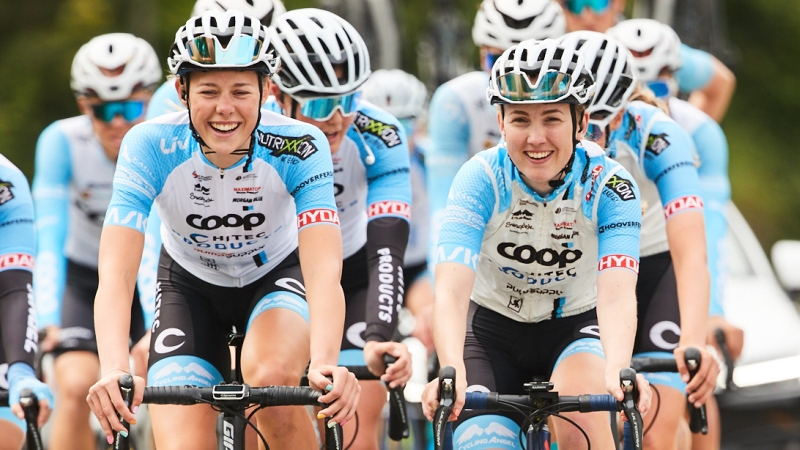 Team Coop – Hitec Products shows itself in Ladies Tour of Norway